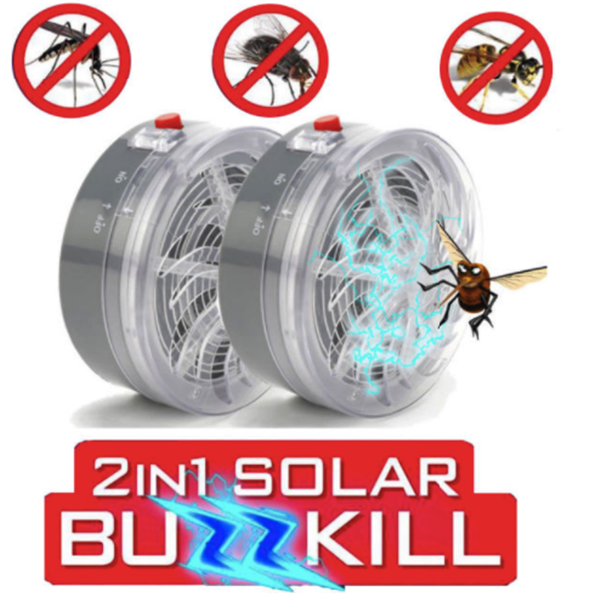 🔥60% OFF🔥 Insect Killer-UV Solar Repellent Lamp