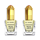 2X Musc Adem applicateur Roll-On - 5mL