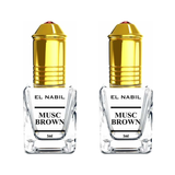 2X Musc Brown avec applicateur Roll-On - 5mL