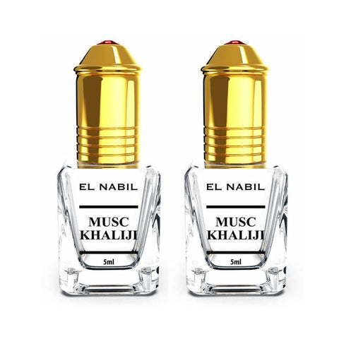 2X Musc Khaliji avec applicateur Roll-On - 5mL