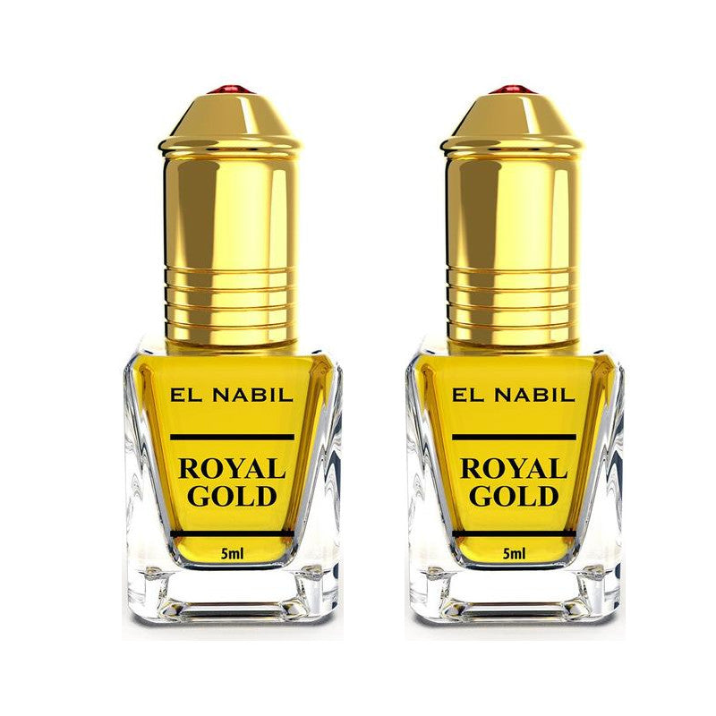 2X Musc Royal Gold avec applicateur Roll-On - 5mL