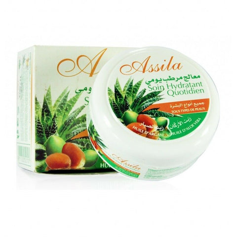 CREME A L'ALOE VERA & A L'ARGAN 100% NATUREL EXCELLENT ANTI RIDE