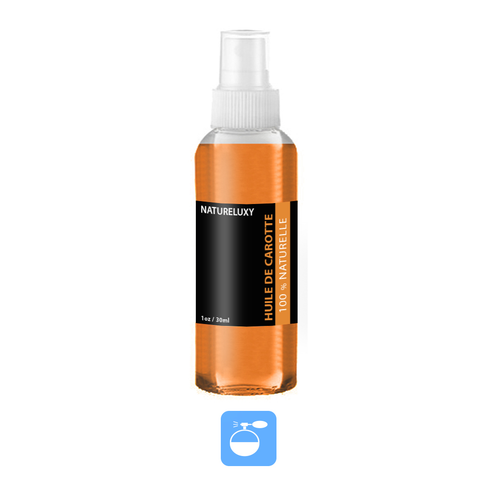 Huile de Carotte 60mL 100% Naturelle Spray