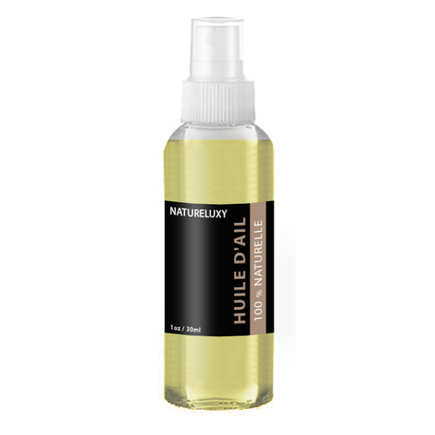 Huile d'Ail 100mL Spray 100% Naturelle