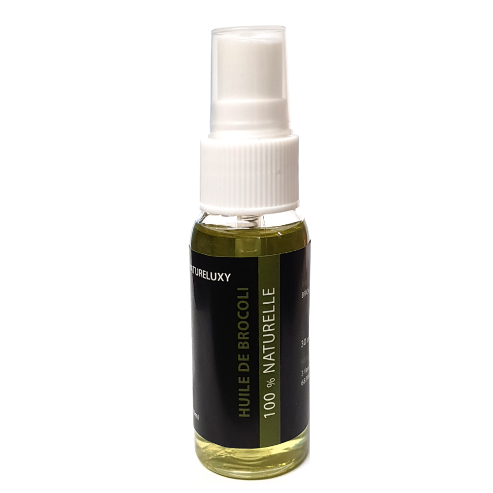 Huile de Brocoli 30mL Spray 100% Naturelle