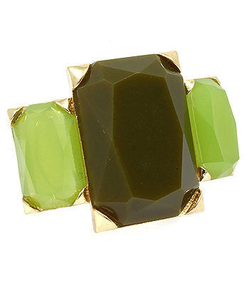 Green Cocktail Ring
