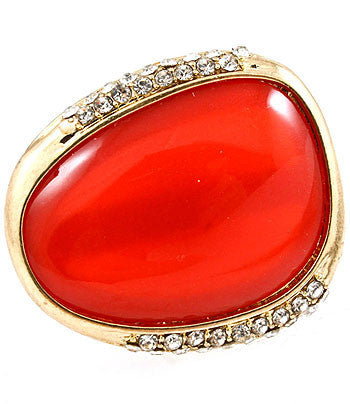 Red Cocktail Ring