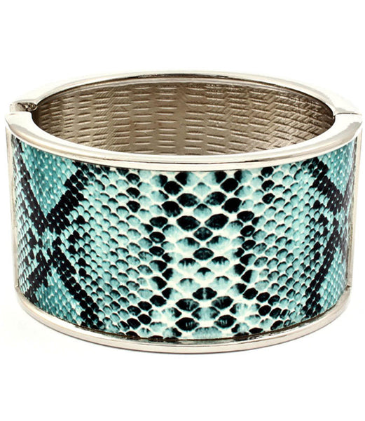 Turquoise Snake Skin Bangle