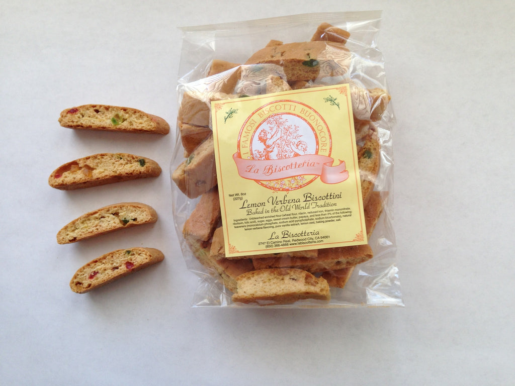 Lemon Verbena & Papaya Biscottini - NO NUTS (8 oz.)