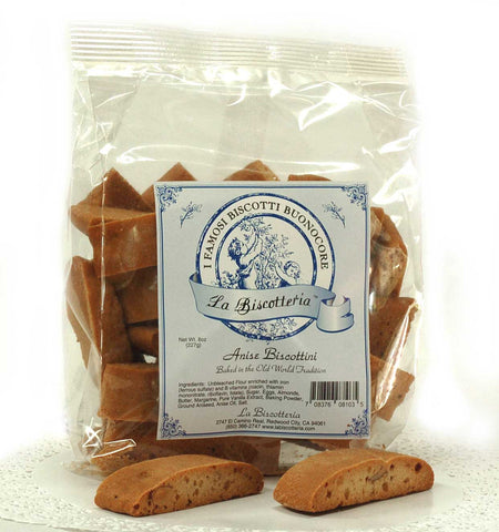 Anise Biscottini (8 oz.)