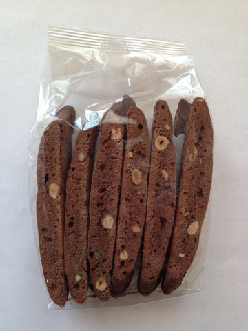 BISCOTTI GRANDE CHOCOLATE DIPPED CHOCOLATE HAZELNUT (16 - 20 oz.)