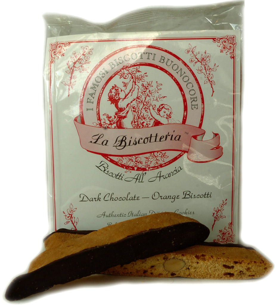 BISCOTTI ORANGE DARK CHOCOLATE (10 - 12 oz.)