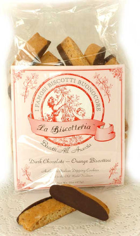 Orange Dark Chocolate Biscottini (16 oz.)