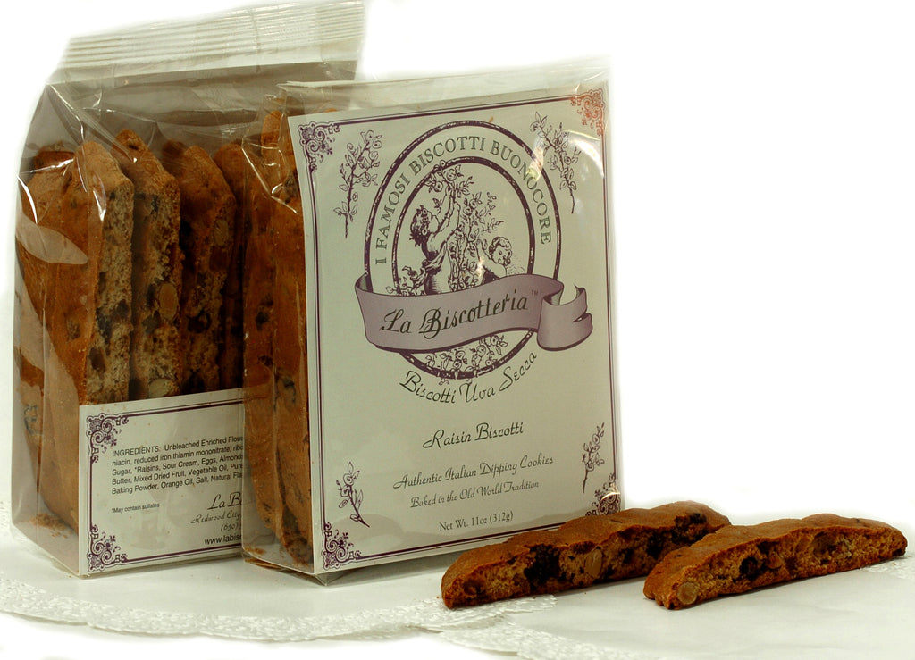 BISCOTTI RAISIN (10 - 12 oz.)