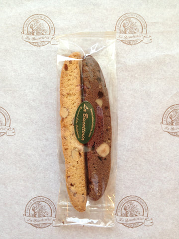 FAVORS BISCOTTI - PLAIN 6 Inch Large Two pack (50 qty)