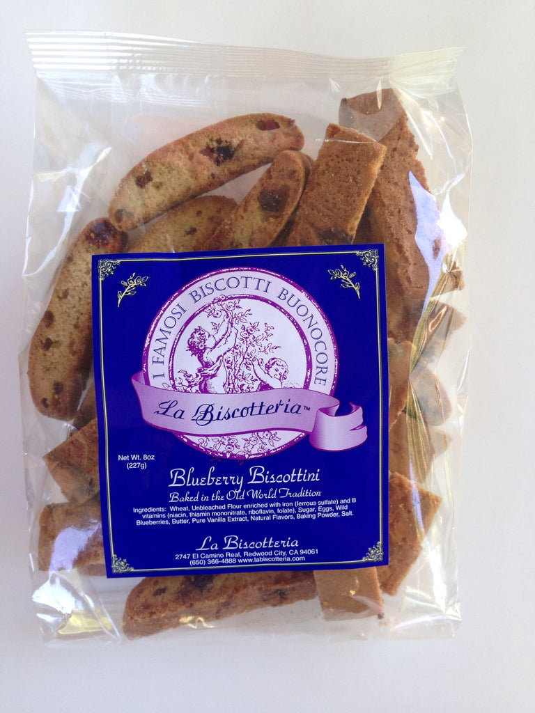 Blueberry Biscottini - Plain No Nuts (8 oz.)