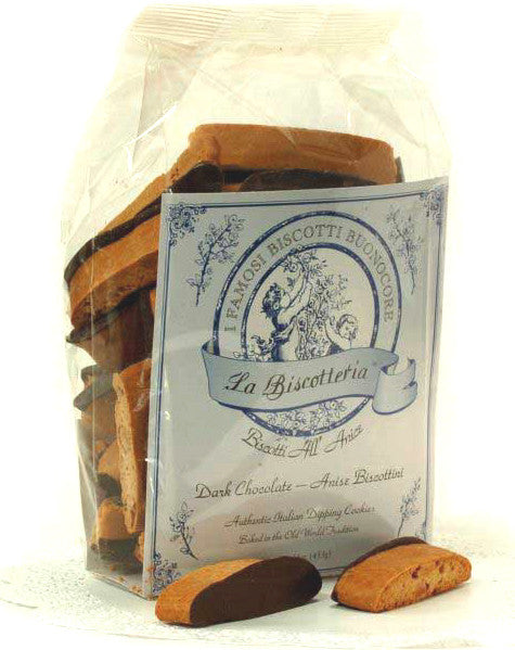 Anise Dark Chocolate Biscottini (16 oz.)