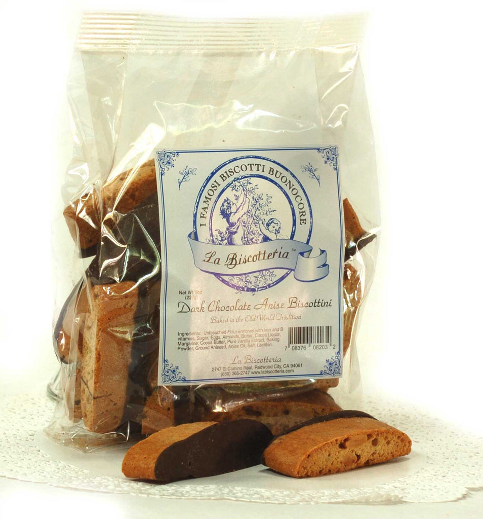 Anise Dark Chocolate Biscottini (8 oz.)