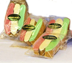 "FAVORS BISCOTTINI - ""Italy"" Theme (3 pack) Chocolate Dipped"