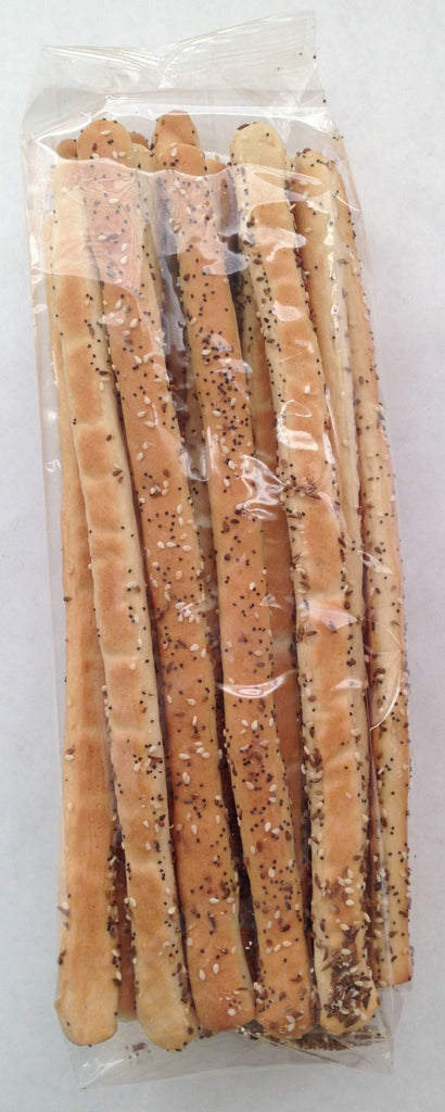 GRISSINI - FENNEL, POPPY & SESAME SEED BREAD STICKS (12 oz.)