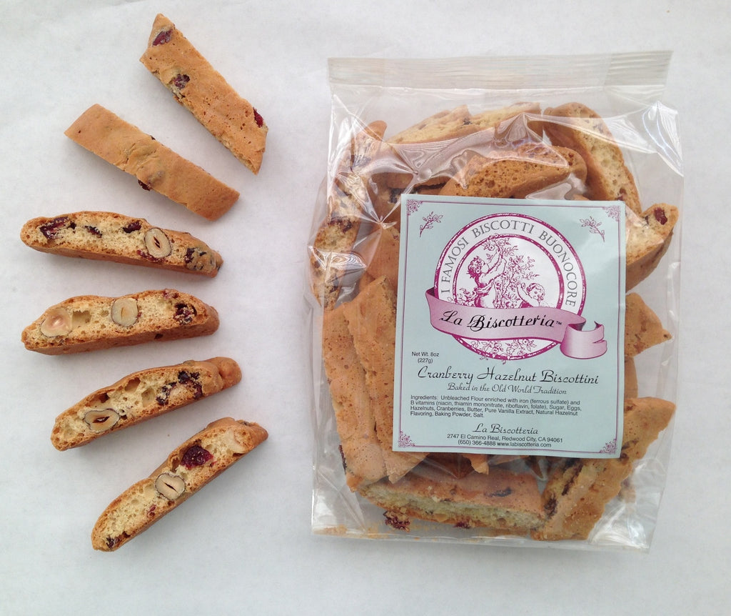 Cranberry Hazelnut Biscottini (8 oz.)