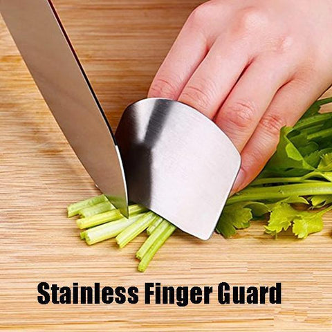 Stainless Finger Guard For Cutting(BUY 1 GET 1 FREE)