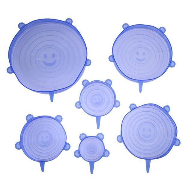 db82223e27ab5 Fresh Forever Silicone Stretch Lids(6PCS PACK) – nicestock