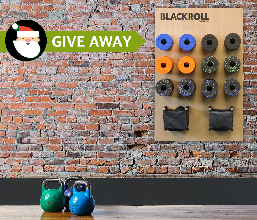 BLACKROLL® Storage Peg Board Christmas GIVE AWAY