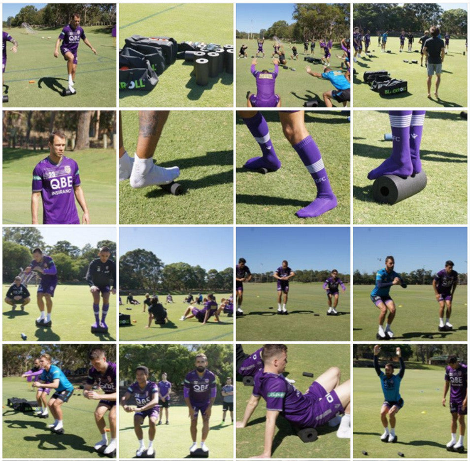 Perth Glory FC - BLACKROLL activation session