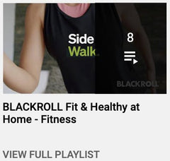 BLACKROLL Fit & Healthy at Home - Fitness
