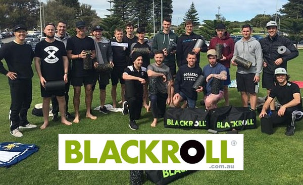 ECU Joondalup Soccer Club  - Jacks BLACKROLL recovery session