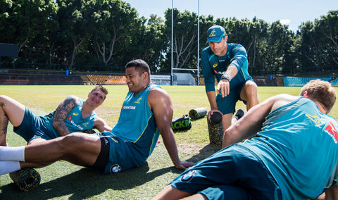 BLACKROLL WALLABIES TRAINING