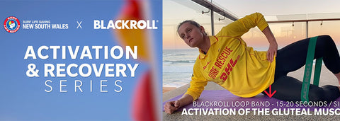 SURF LIFE SAVING NSW x BLACKROLL® Activation and Recovery Series