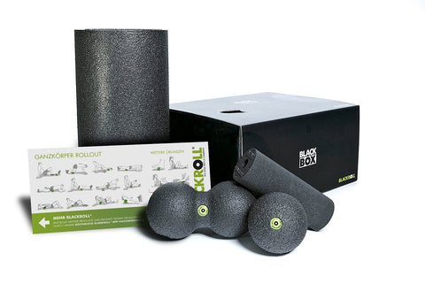 Blackroll set, foam roller set, peanut ball, ball, mini foam roller, set, BLACKBOX