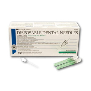 Disposable Dental Needles - 30G x-short 0,3 x 12 mm blauw