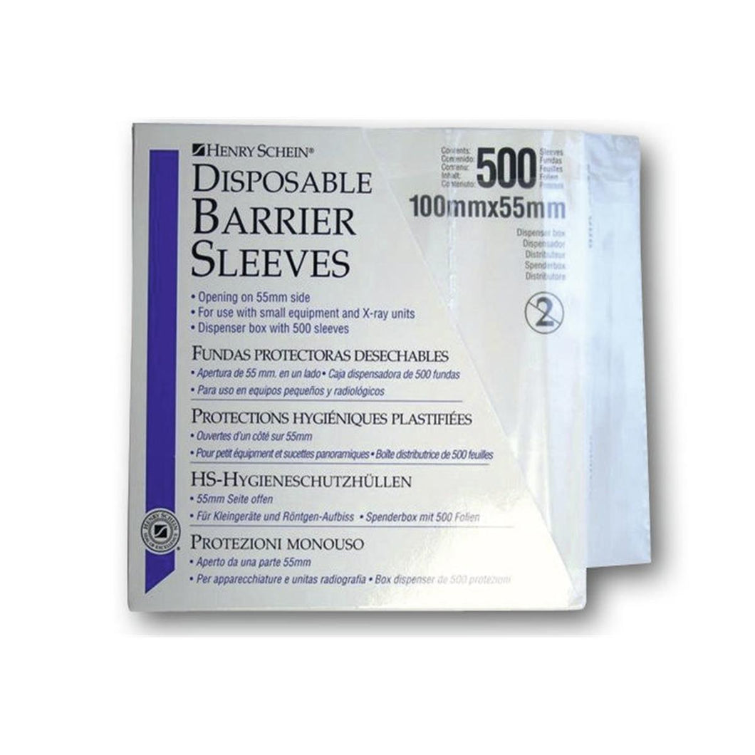 Disposable Barrier Sleeves - 100 x 55 mm