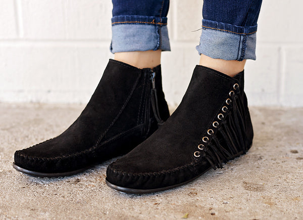 Willow Boot Black