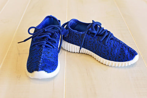 Aleaz Fashion Sneaker Blue