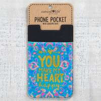 Phone Pocket Make My Heart Happy
