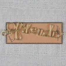 Wire Word Key Chain - Friends