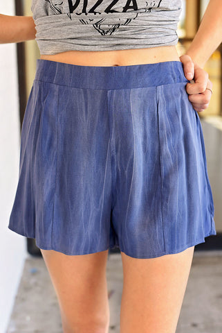 Girls Night Out Shorts - Blue