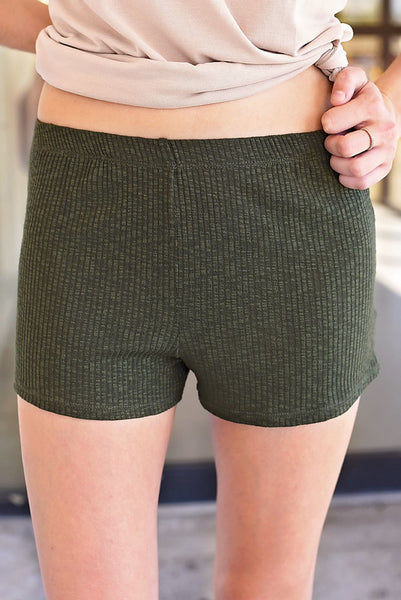 All About You Shorts - Green