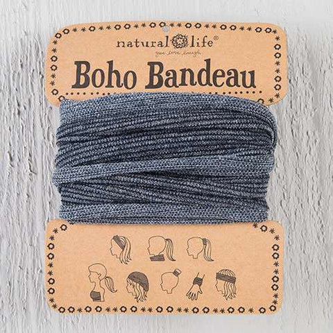 Boho Bandeau - Grey Tinsel
