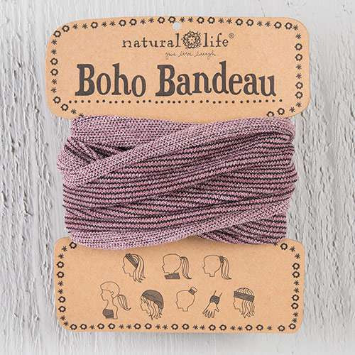Boho Bandeau - Rose Tinsel