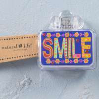 Toothbrush Cover Purple Neon Smile