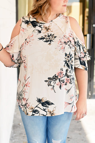 Destined for Paradise Top - Taupe
