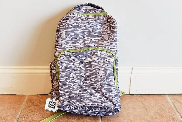 Backpack Lines- Grey