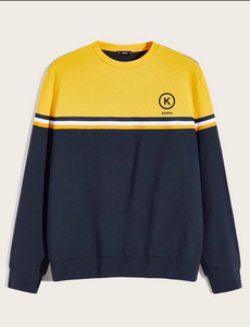 KOPPS Unisex Pullover (Blue & Yellow)