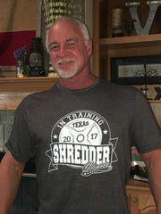 Texas Shredder Classic 20th Anniversary  Men's In Training T shirt- Grey
