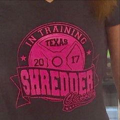 TEXAS SHREDDER CLASSIC 20TH ANNIVERSARY IN TRAINING T SHIRT